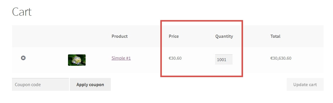 Image showing WooCommerce discounted item price