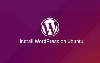 Image showing guide to install WordPress with Apache on Ubuntu 18.04